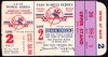 1949 World Series Game 2 Ticket Stub Dodgers at Yankees