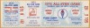 1972 MLB All Star Game Atlanta Braves Aaron HR full ticket