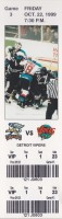 1999 IHL Detroit Vipers at Grand Rapids Griffins ticket stub