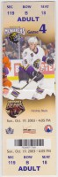 2003 AHL Hershey Bears at Manchester Monarchs ticket stub