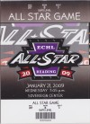 2009 ECHL All Star Game at Reading Royals ticket stub