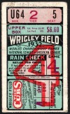 1932 World Series Game 4 Ticket Stub Yankees vs Cubs
