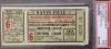 1935 World Series Game 6 Ticket Stub Cubs at Tigers