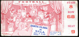 1940 NCAAF Santa Clara at UCLA