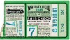 1945 World Series Game 7 Ticket Stub Tigers at Cubs