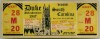 1947 NCAAF South Carolina at Duke Full Ticket