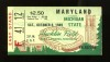 1949 NCAAF Mayland at Michigan State ticket stub