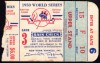 1950 World Series Game 3 Ticket Stub Phillies vs Yankees