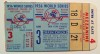 1956 World Series Game 3 ticket stub Dodgers vs Yankees