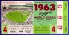 1963 World Series Game 4 ticket stub Yankees at Dodgers
