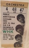 1964 Beatles at Cleveland Public Auditorium