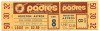 1969 Astros at Padres Inaugural Game Full Ticket