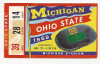 1969 NCAAF Ohio State at Michigan