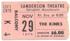 1974 The Kinks at Springfield's Sanderson Theatre