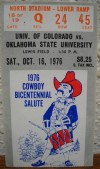 1976 NCAAF Colorado at Oklahoma State