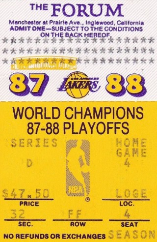 1988 NBA Finals Game 7 Pistons at Lakers 50