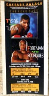 1990 Tyson and Foreman bouts Caesar's Palace
