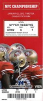 2011 NFC Championship Giants at 49ers