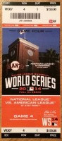 2014 World Series Game 4 ticket Royals at Giants