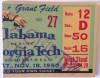 1950 NCAAF Alabama at Georgia Tech