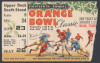 1952 Orange Bowl Baylor vs Georgia Tech ticket stub