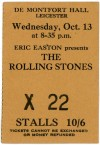 1965 Rolling Stones Leicester England