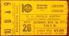1973 ABA Carolina Cougars at Kentucky Colonels ticket stub