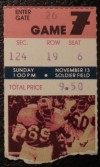 1976 NFL Broncos at Bears