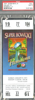 1977 Super Bowl Raiders vs Vikings full ticket stub