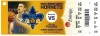 2012 NBA Pacers at Hornets ticket stub