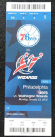 2012 NBA Wizards at 76ers