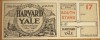 1906 NCAAF Harvard vs Yale Full ticket