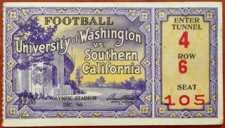 1930 NCAAF Washington at USC