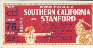 1932 NCAAF USC at Stanford