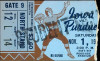 1947 NCAAF Iowa at Purdue ticket stub
