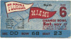 1951 NCAAF Florida at Miami Ticket Stub
