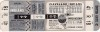 1954 World Series Game 3 unused ticket Giants at Indians