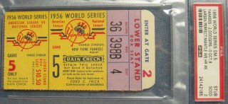 World Series Ticket Stubs