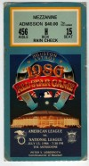 1986 MLB All Star Game Astrodome