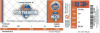 2015 NLCS Gm 2 Cubs at Mets ticket stub