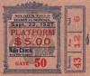 1927 Boxing Tunney vs Dempsey ticket stub