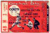 1962 MLB Cubs at Colt 45's Opening Day