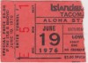 1975 MiLB PCL Tacoma Twins at Hawaii Islanders ticket stub