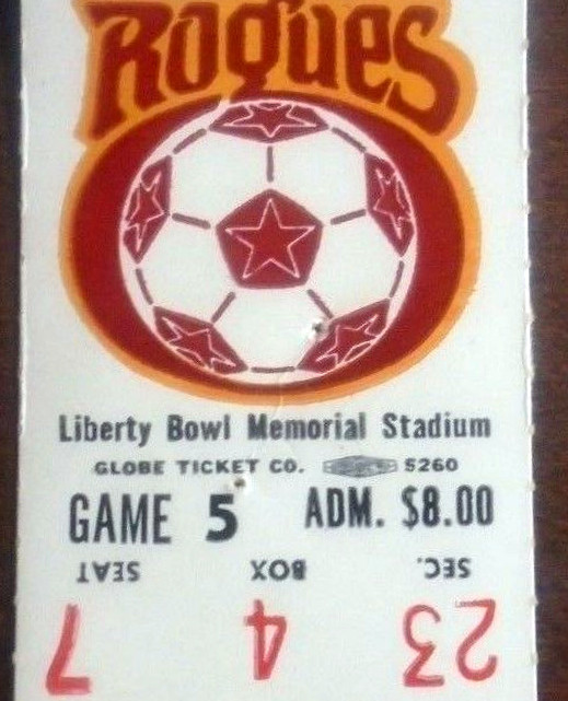 NASL ticket stubs
