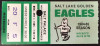 1985 Salt Lake Golden Eagles ticket stub vs Muskegon Lumberjacks