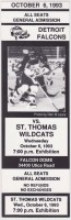 1993 CoHL St. Thomas Wildcats at Detroit Falcons