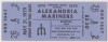 1979 Alexandria Mariners ticket