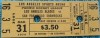 1979 Los Angeles Blades ticket stub vs San Francisco Shamrocks