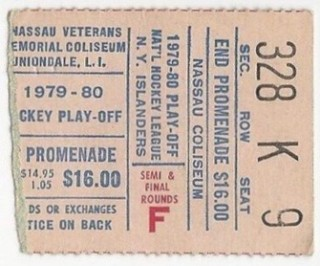 1980 Stanley Cup Final Flyers at Islanders ticket stub 53 (1)