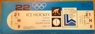 1980 USA Olympic Hockey Miracle on Ice USA vs Russia 650